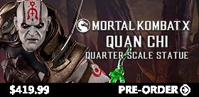 Mortal Kombat X 1/4 Scale Statue - Quan Chi