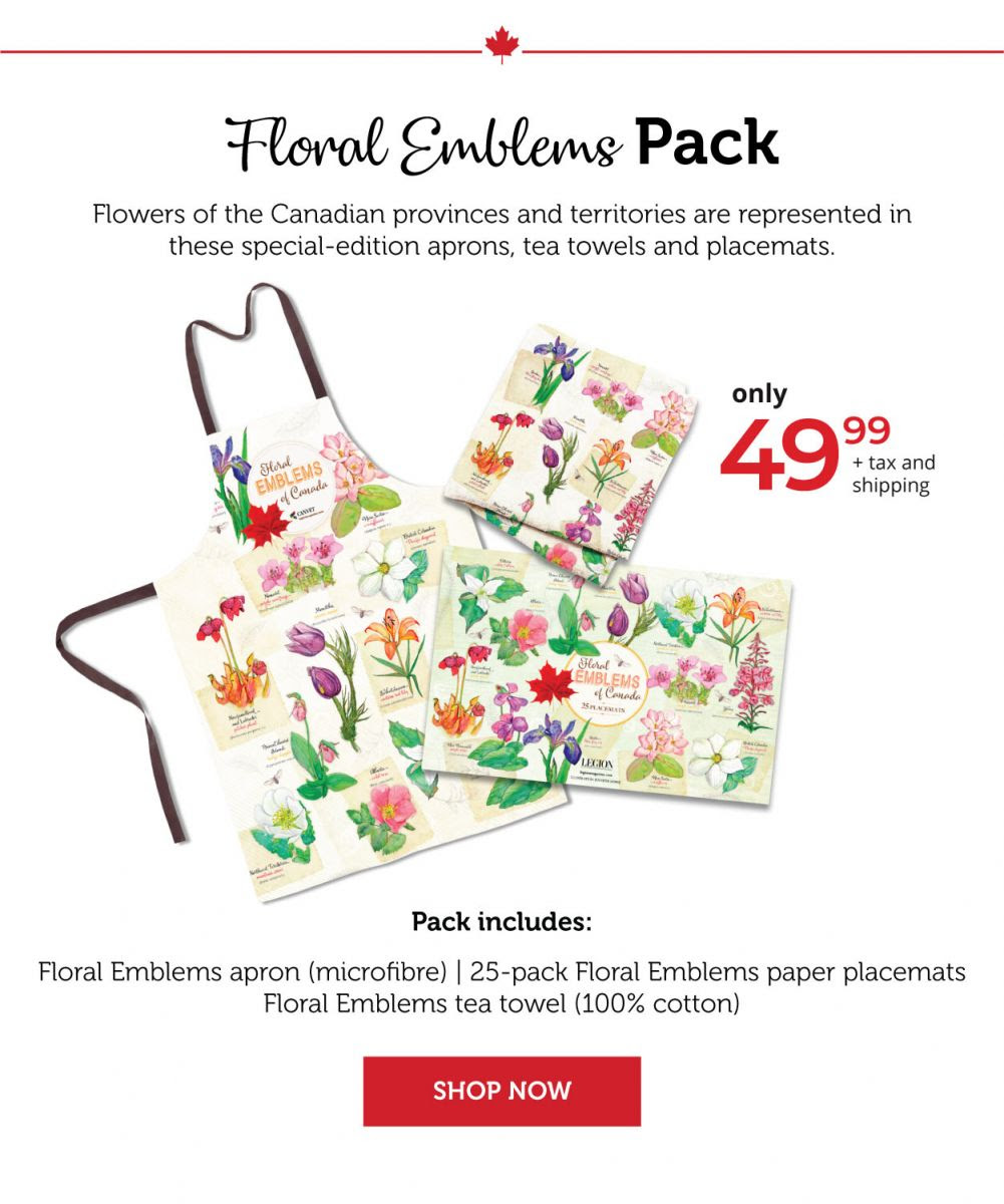 Floral Emblems of Canada Pack