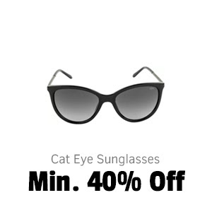 Cat eye Sunglasses at Min.40% Off