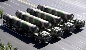 2014 JAN 22 DF-31A mobile launchers 2009 military parade in Beijing300