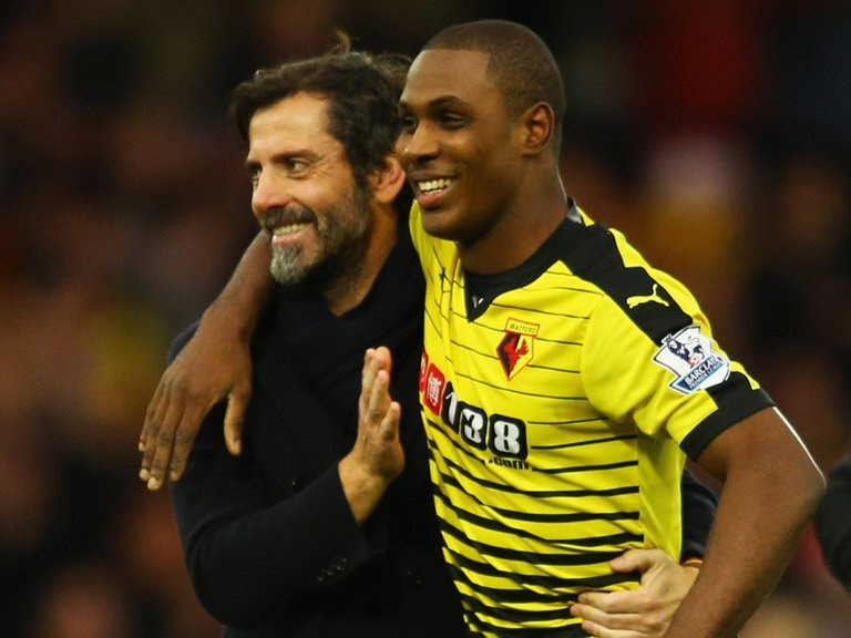 Quique Sanchez Flores and Odion Ighalo will be reunited at Shanghai Shenhua