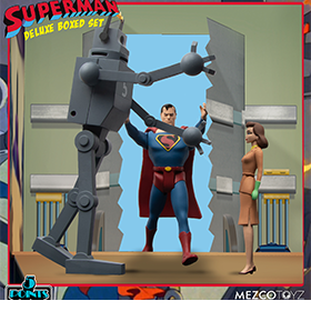 Superman: The Mechanical Monsters (1941) 5 Points Deluxe Boxed Set