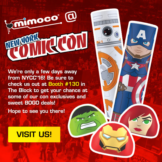 Mimoco at New York Comic Con!