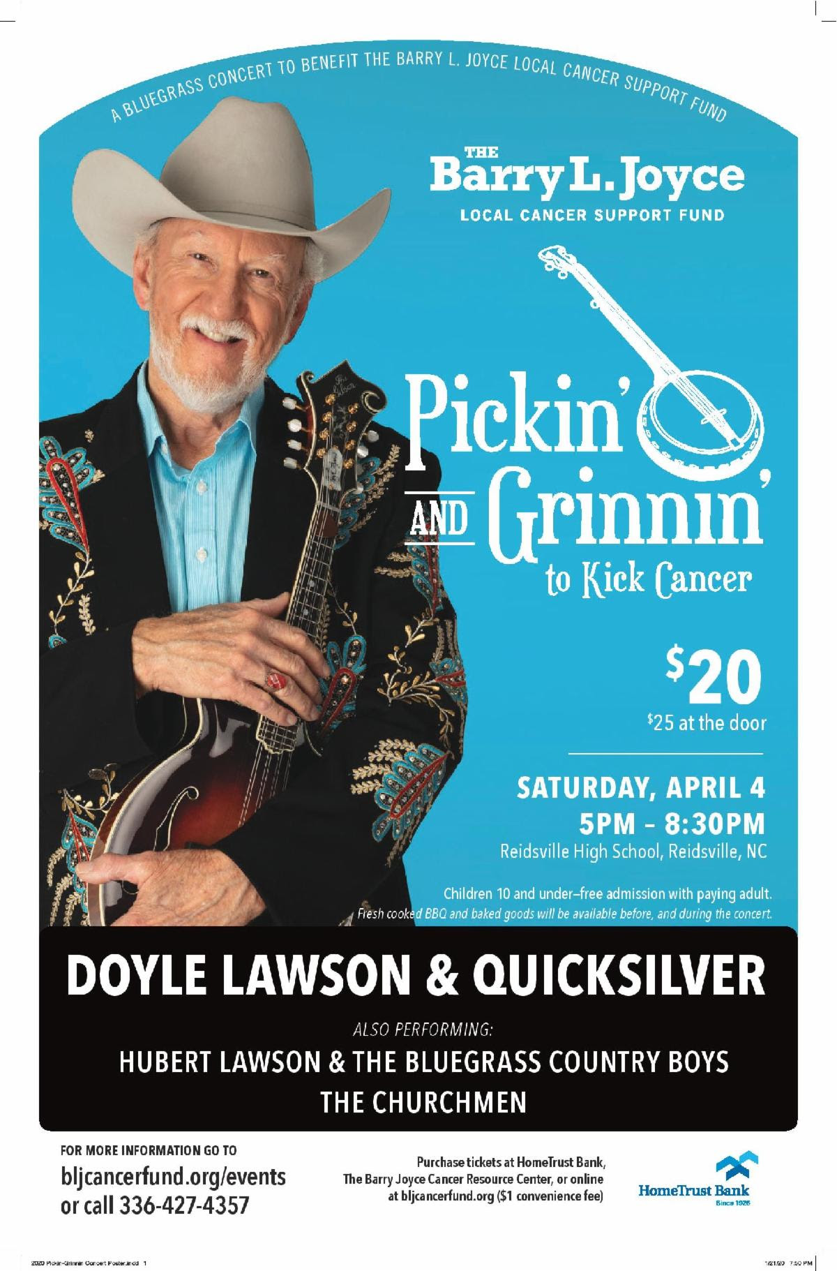 "Pickin' and Grinnin"" To Kick Cancer"