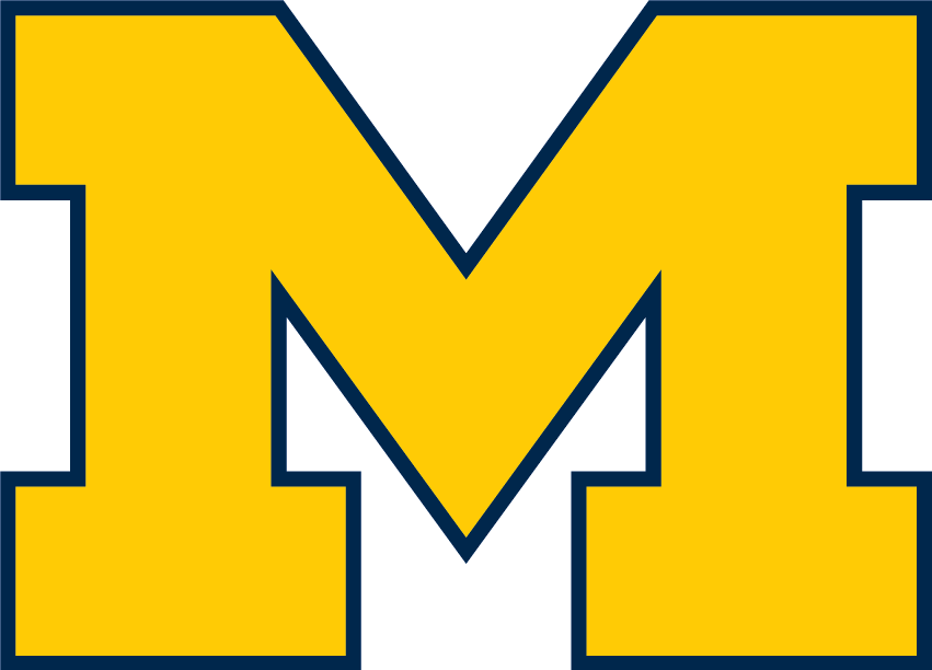 Image result for Michigan Wolverines logo blank background