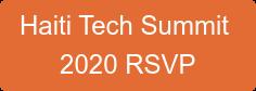 Haiti Tech Summit 2020 RSVP