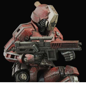 ACID RAIN PUPPET CONTAINER GUARD EXCLUSIVE FIGURE