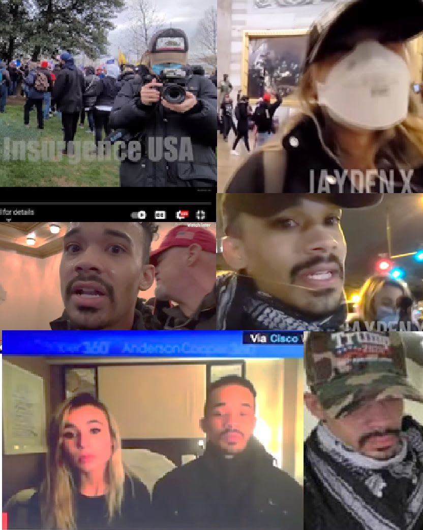 IGNORED BY THE MEDIA ELITES AND FBI: List of 20 Individuals at the Capitol on January 6th – All Appear to be Connected to Antifa or Far Left Groups Most-Wanted-1-Sullivan-and-CNN