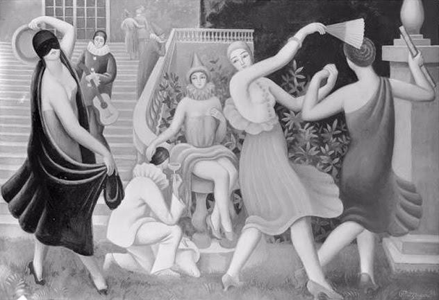 Le_Bal_masque,_La_Comedie, 1924 (632x433, 143Kb)
