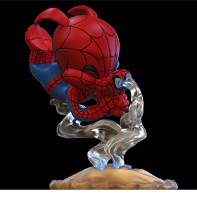 Marvel Q-Fig Spider-Ham Diorama