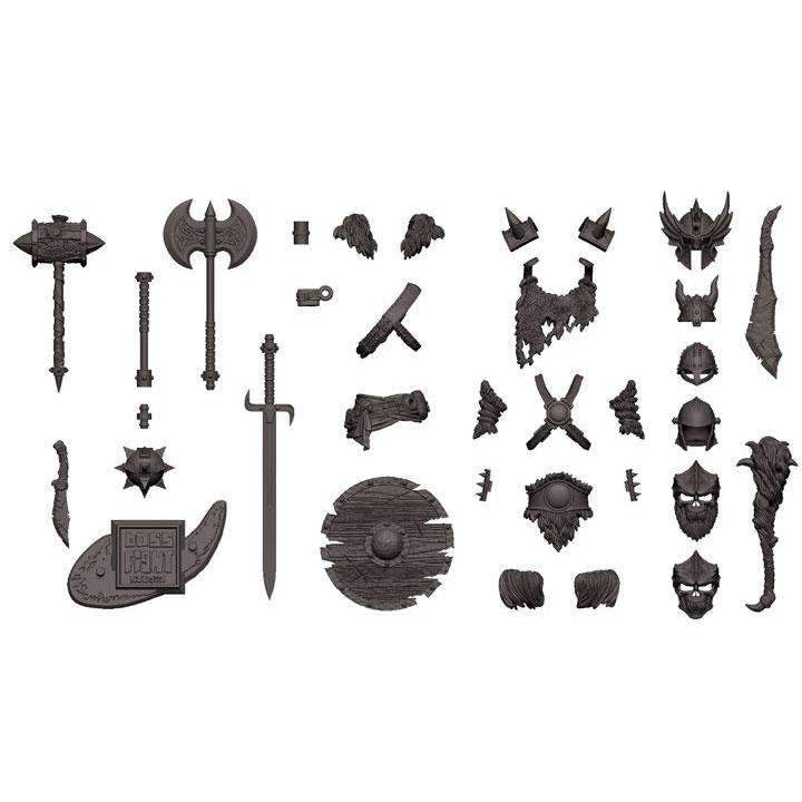 Image of Vitruvian H.A.C.K.S. Character Builder Orc/Barbarian Kit (Wolf Grey) - Q3 2019