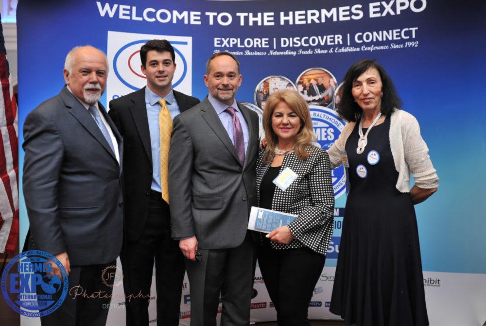 Hermes-Expo-L-R-Paul-Kotrotsios-Greg-Nerantzis-Gregory-Nerantzis-Linda-Kotrotsios-and-Anna-Sakkis-e1525302388454