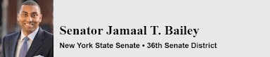 Senator Jamaal T. Bailey