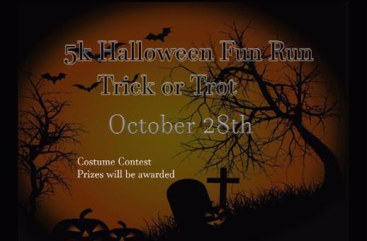 5k Halloween Fun Run