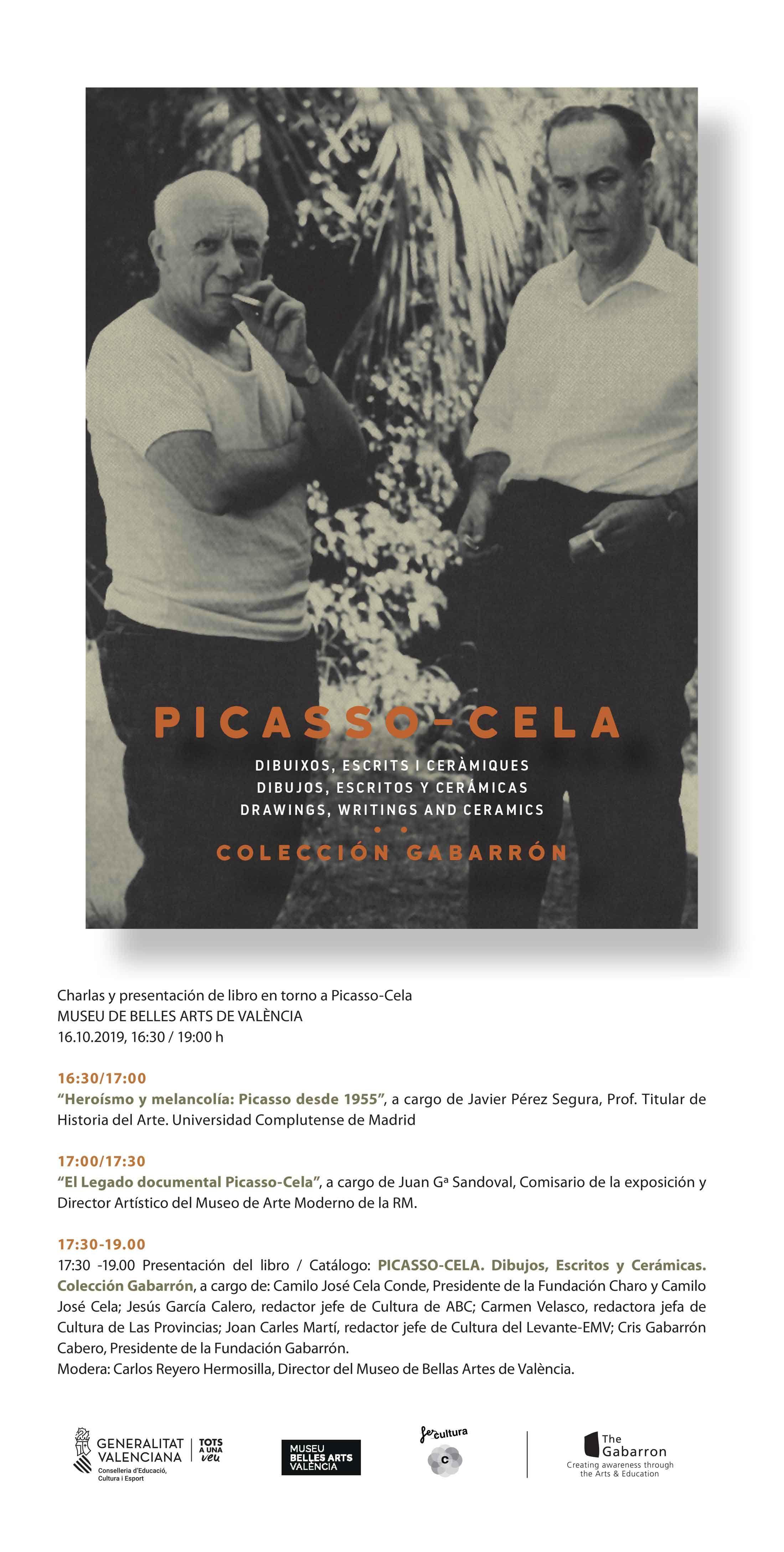 Jornadas Picasso-Cela & Presentación del libro Catálogo