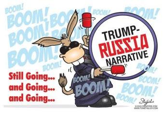trump russia collusion bunny