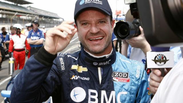 'Fim de um era de piadas', diz Barrichello ao receber vacina antecipadamente