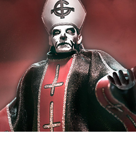 Ghost Ultimates Papa Emeritus I Figure