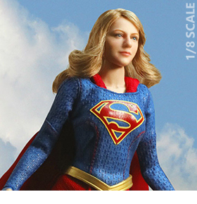 SUPERGIRL 1/8TH SCALE REAL MASTER SERIES FIGURE