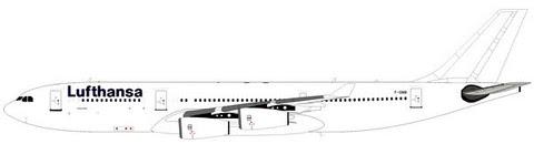 Airbus A340-200 Lufthansa F-GNIB | is due: August 2019