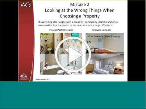 Madison Network Webinar- Katie Wethman ('94)- 5 Mistakes Home Buyers Make