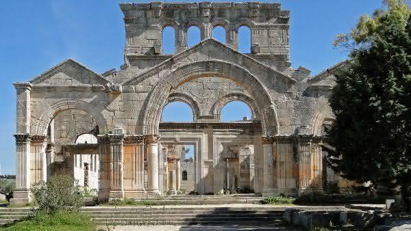 Igreja de Sao Simeao Estilita entre as igrejas mais antigas do mundo