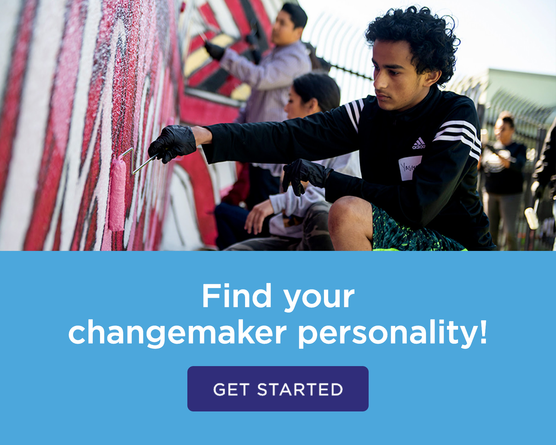 Find your change agent personality! Get started.