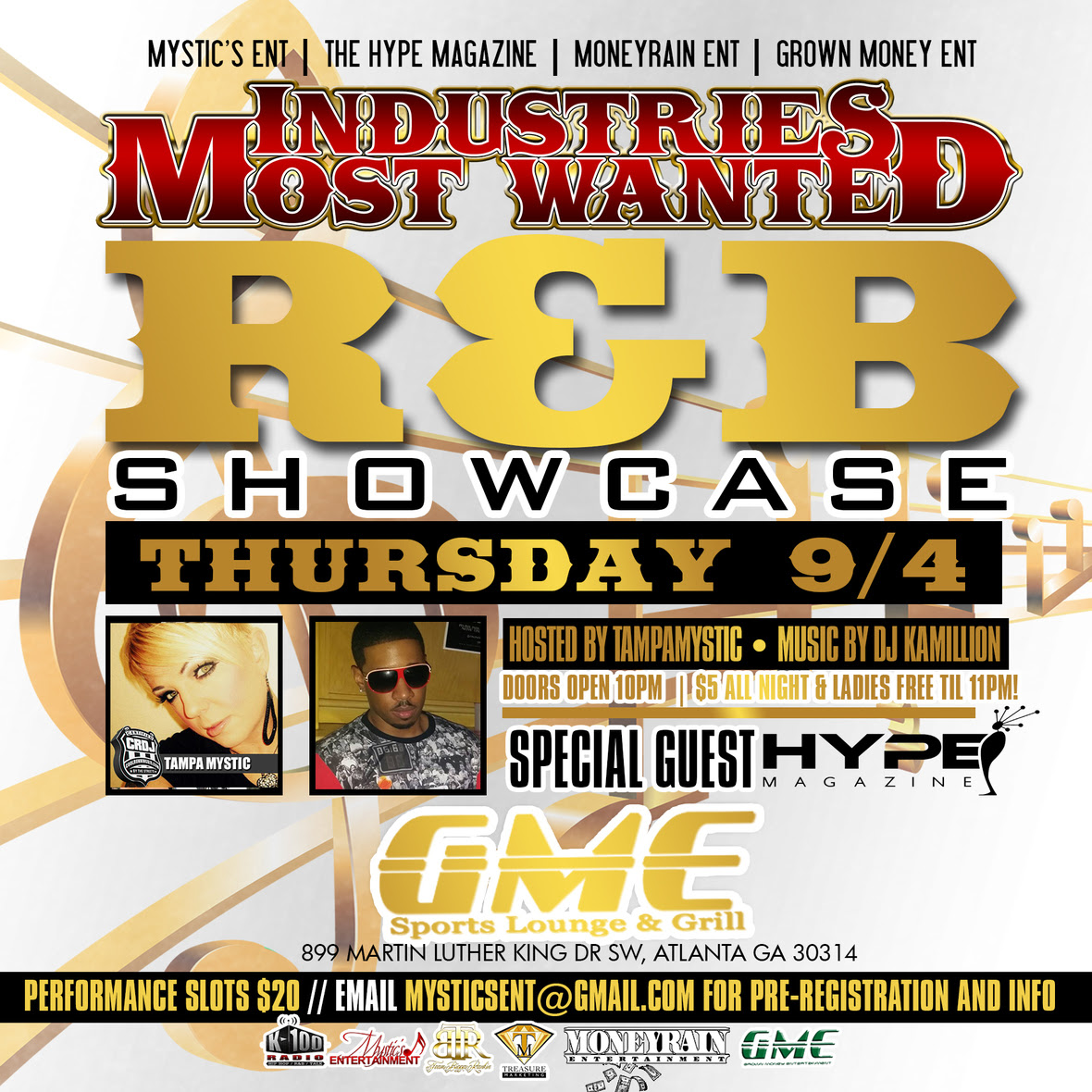Tampa Mystic - IMW - RNB Showcase - 9-4