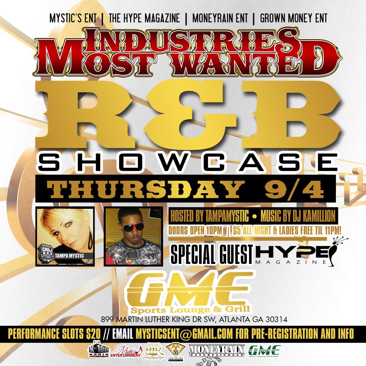 Tampa Mystic - IMW - RNB Showcase - 9-4