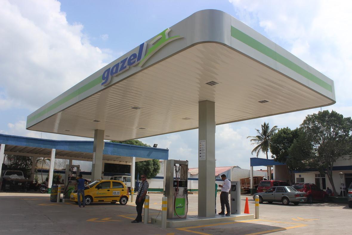 Estacion de gas vehicular
