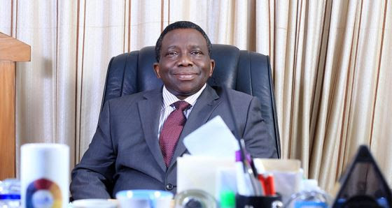 Prof. Isaac Adewole was sworn in as Minister of Health on November 11, 2015. Photo Source: http://oip.ui.edu.ng/