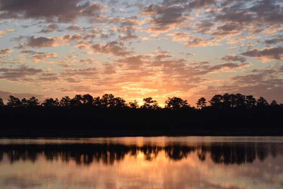 sunrise at Camp Ocala