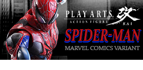 MARVEL COMICS PLAY ARTS KAI SPIDER-MAN