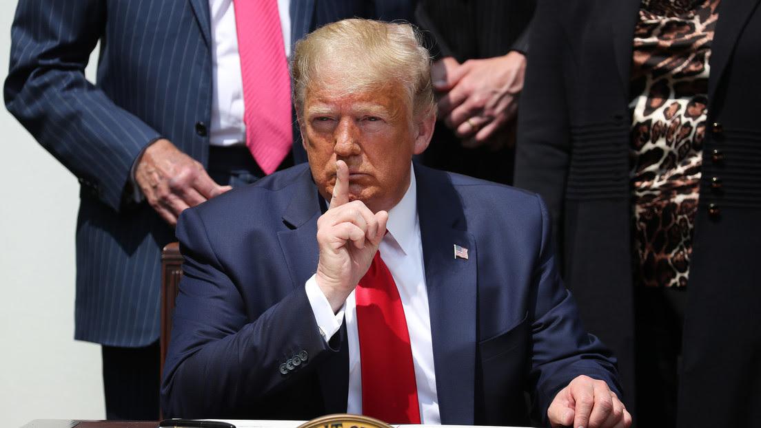 Trump reveló que había construido un