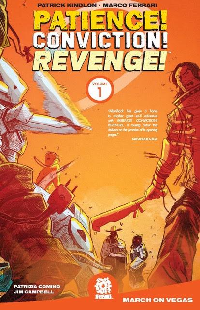 Patience Conviction Revenge Vol 1
