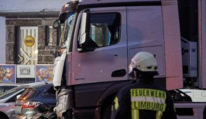 "Germany: Cops say motive of Muslim migrant who smashed truck into cars while screaming ""Allah"" is unclear"