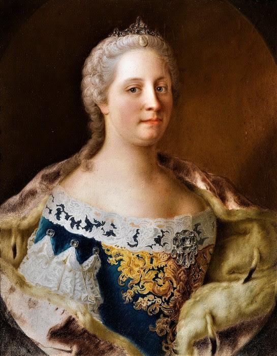 Портрет императрицы Марии Терезы    65 х 62   картон, пастель   Частное собрание (545x700, 128Kb)