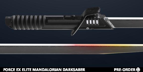Star Wars: The Black Series Force EX Elite Mandalorian Darksaber