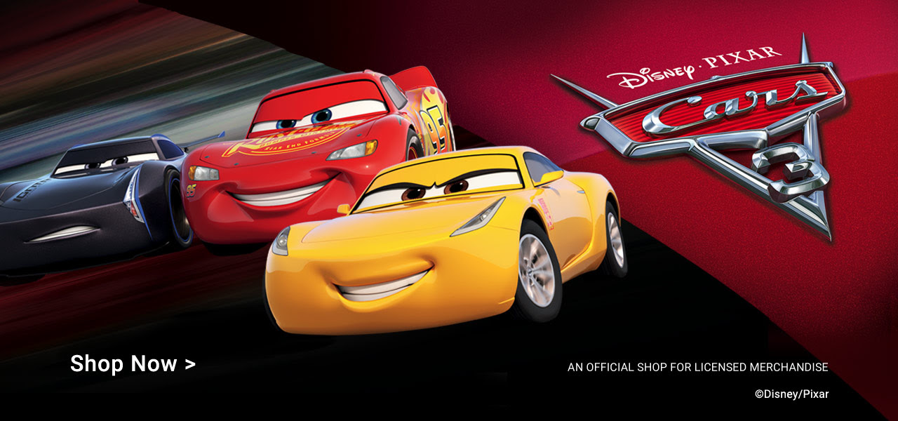 Treat Someone To Personable Gifts Featuring Disney Pixar Cars 3 Characters