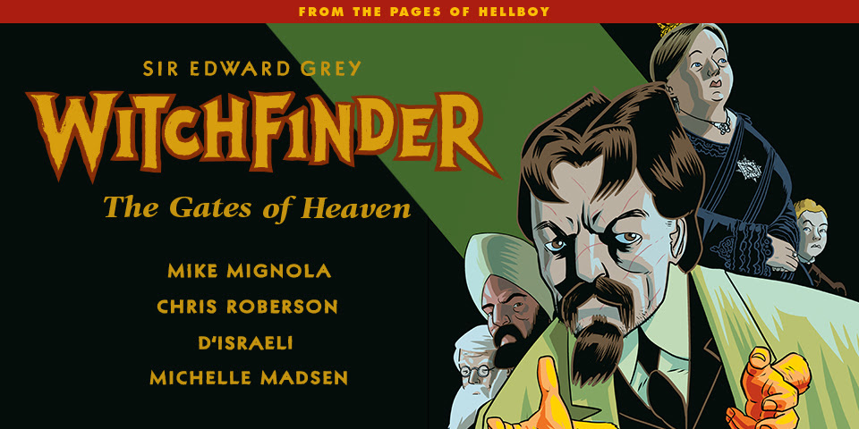 WITCHFINDER THE GATES OF HEAVEN #1