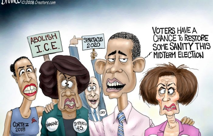 A.F. Branco Cartoon â The Definition of Insanity