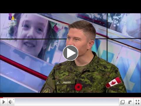 Lt. Col. Reeves: Canada is learning Ukraine's tactics on battling hybrid threats