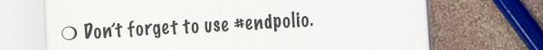 #endpolio