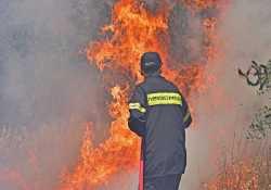 Πάνω από 100 πυρκαγιές αντιμετώπισε η Πυροσβεστική, το τελευταίο 24ωρο