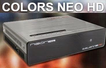 NEOSAT COLORS NEO - NEONSAT COLORS NEO NOVA ATUALIZAÇÃO V.C70 - 09/06/2017