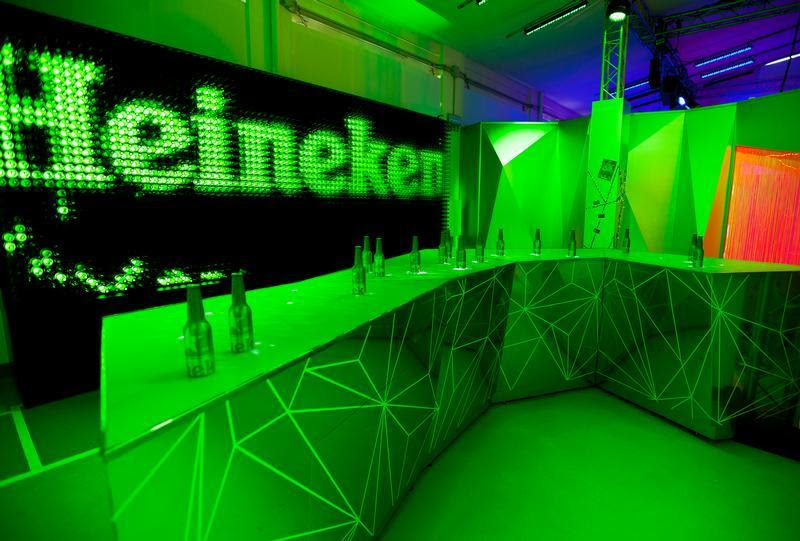 Heineken Club Party.