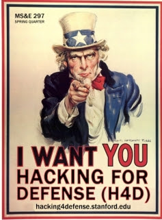 Hacking for Defense poster