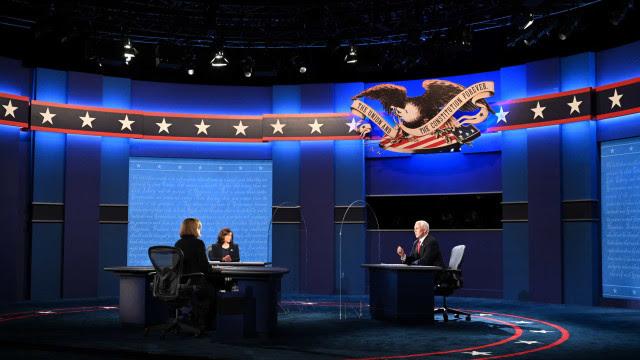 Após debate caótico entre Trump e Biden, vices mantêm civilidade e discutem propostas em Utah