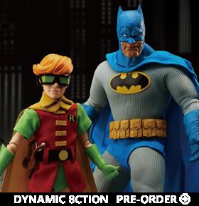 Batman: The Dark Knight Returns Dynamic 8ction Heroes DAH-044DX Batman & Robin Set