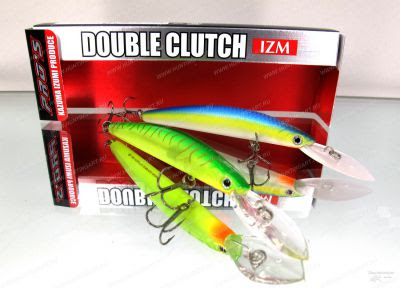 Воблер Daiwa Double Clutch 75SP-G
